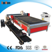 cnc duct plasma cutting machine with rotary equipment