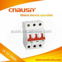 C32 6kA 32amp 3pole B curve types of electrical breakers