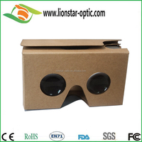 3d vr glasses virtual reality google cardboard for blue film video open sexy movies