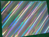 PET, BOPP holographic metaillized thermal lamiantion film from Wenzhou in China