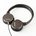 Fanmusic H6 Foldable Stereo Headphones with In-line Microphone and Remote Headphone
