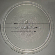 28.4cm 3fixers microwave oven parts, glass plate, microwave oven glass tray