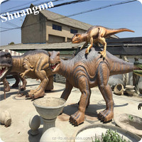 Life sized and high quality Fiberglass animal model For Theme Park