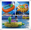 High Quality PVC 0.65mm used bumper boats,electric speed boat for sale