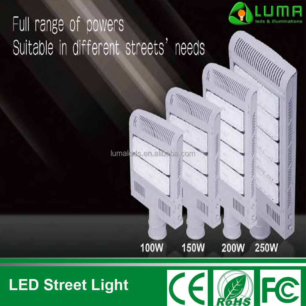 LED Module Street Light 100-250W, IP67 and 5 Years Warranty