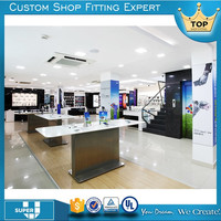 modern hot sale store furniture design display for mobile shop