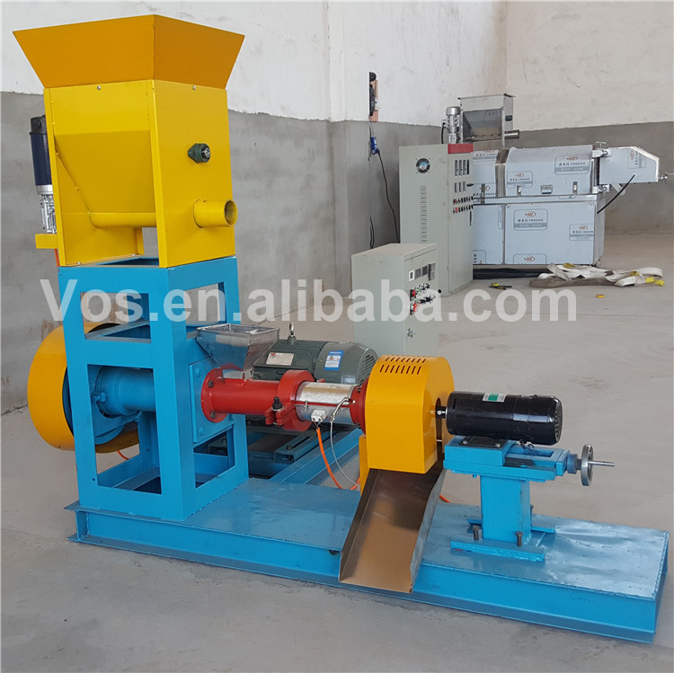 Factory Price Floating Fish Feed Pellet Making Machine Pet Food Pellet Extruder Machine Price