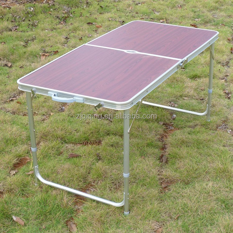 Most fashion and new style simple folding aluminum table sets HF-18-36