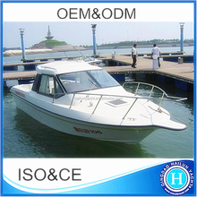 CE Approved Hard Top Fishing Boat Yacht For Sale