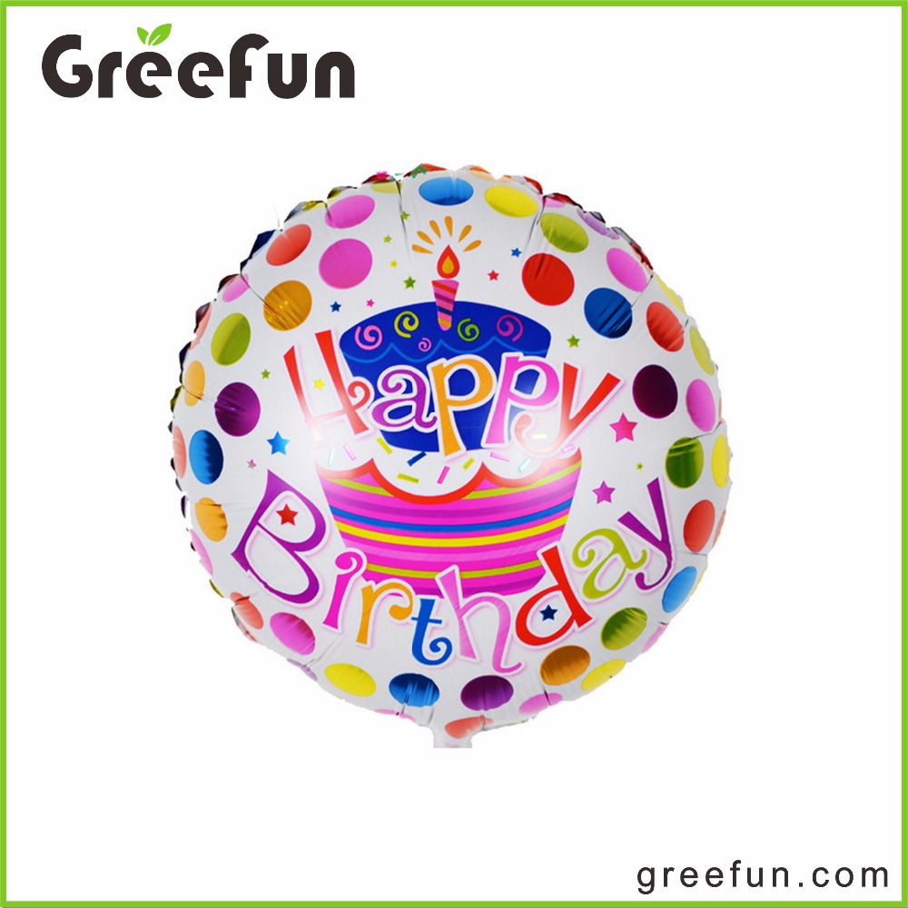 New Custom Happy Birthday Designs Home Decoration Balloons For Party Baby Party Foil Baloon For Wholesale