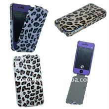 PU Leather Case For iPhone4