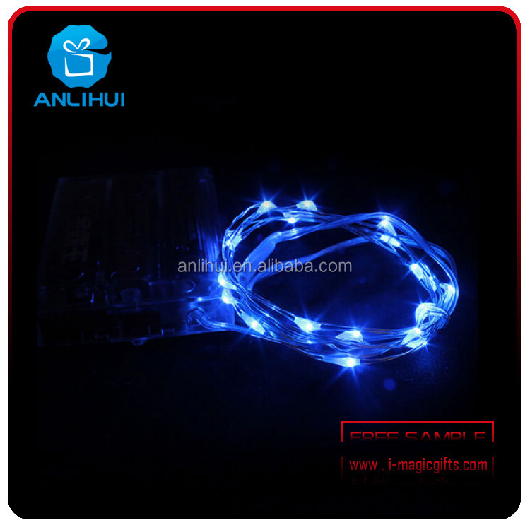 2016 new design China Custom Cheap Battery Operated Wire Copper Led String Light