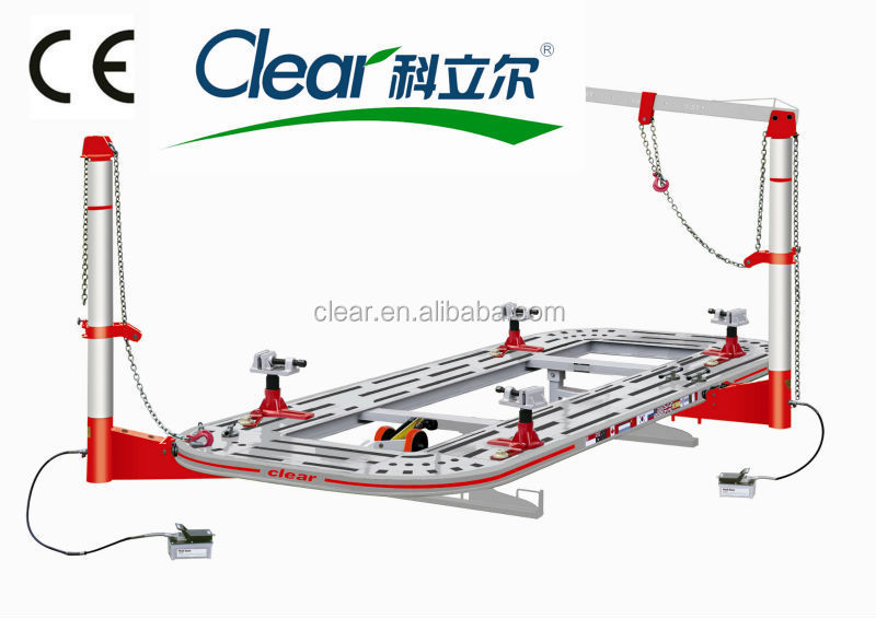 Collision Repair floor system on ground CE car frame machine H-601