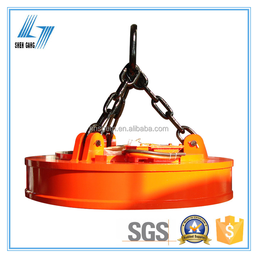 Lifting System for Handling Steel Scraps