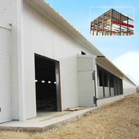 ISO9001 polystyrene panel mobile building workshop and EPS Sandwich panel 2016 fast build construction Uganda