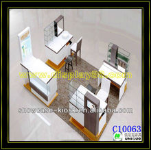2013 New cosmetic exhibition booth for cosmetic show displays/standard exhibition beauty booth design