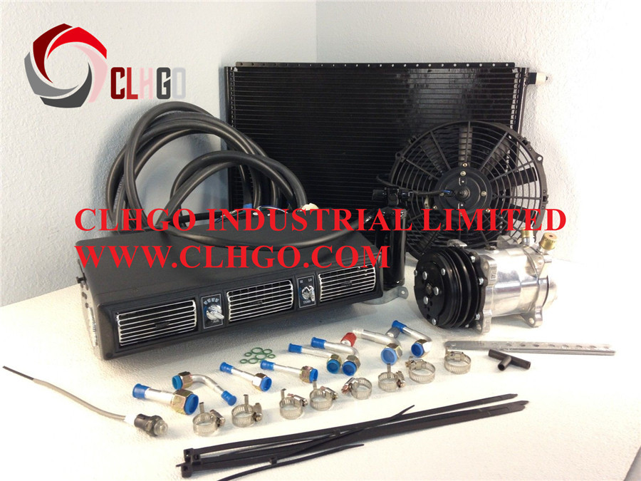 Air conditioner 12v beu 450 100 universal a c system a c for Aire acondicionado autocaravana 12v