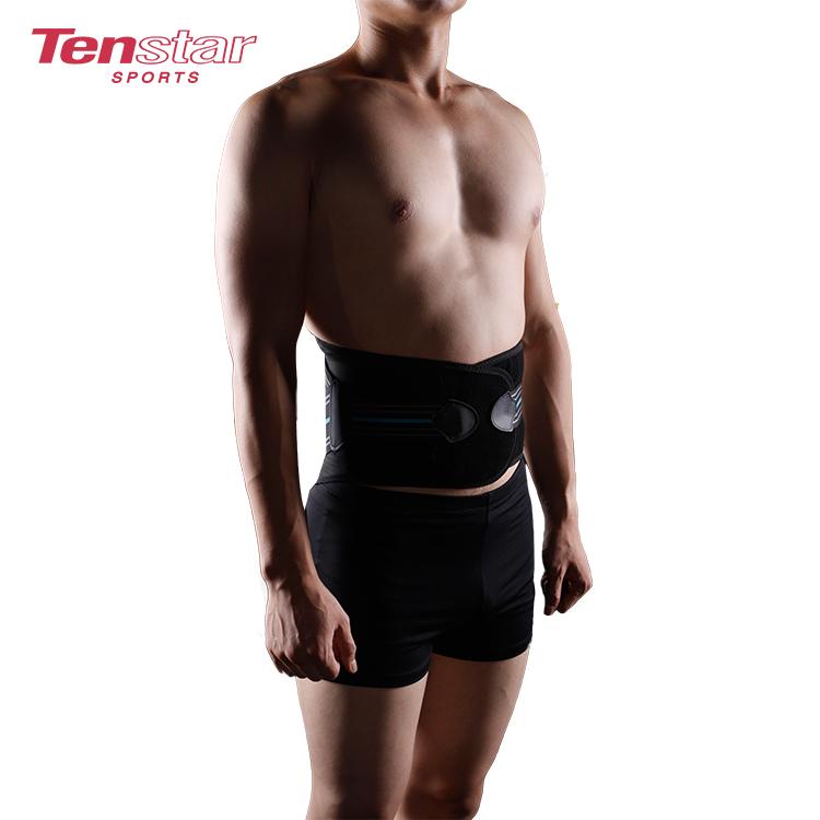 Ceinture de soutien lombaire à double traction en néoprène pour le soulagement de la douleur au bas du dos