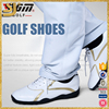 Fashion net linging women and men golf leather brand shoe