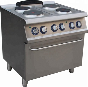 soppas professional stainless steel marine electric cooking range (4 square hotplate)