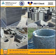 Flower Pot,blue Limestone,Stone Flower Pot