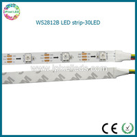 led strip programmable WS2812B 30 LED rgb color changeable flexible LED light sheet