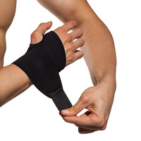 Wholesale custom made private label wrist brace wraps neoprene