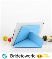 New Transformable folded leather stand case for iPad Air for iPad 5