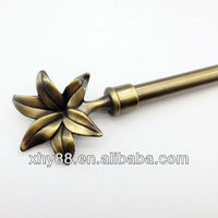 metal finial curtain rod