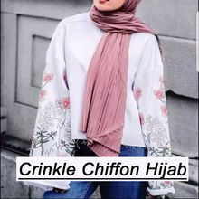 2017 summer woman solid color plian muslim wholesale crinkle hijabs instant shawl chiffon hijab