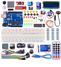 Hot RFID Starter Kit for Arduino UNO R3 dip Upgraded Version Learning Suite ULN2003 830 breadboard with PVC box