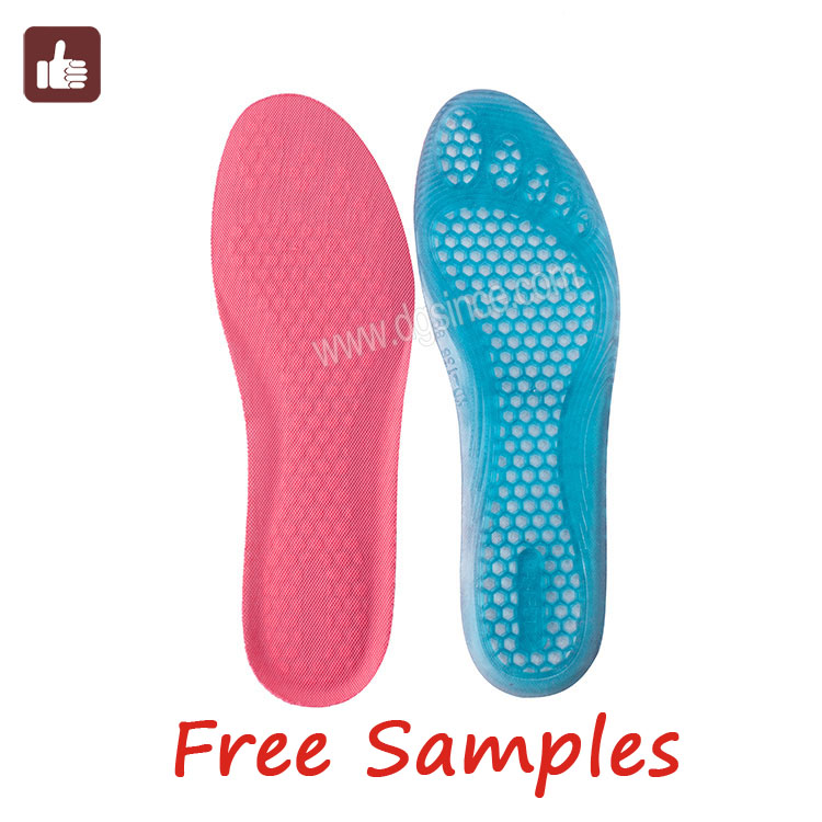 China supplier remote control heated sport insoles