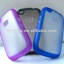 Hot double color TPU PC hybrid hard case cover for blackberry 9220 case new