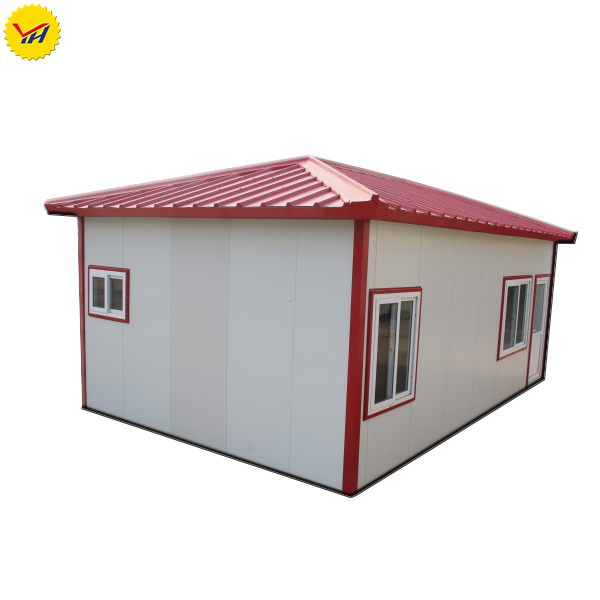 Sandwich panel transportable house camping movable shelter for restaurant scenic parking