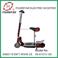FOURSTAR mini electric kick board type scooter