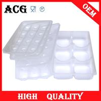 Hot sale disposable plastic divided food tray for food packing