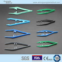 Medical Use Disposable Plastic Scoop Tweezers Surgical Forceps Clamp