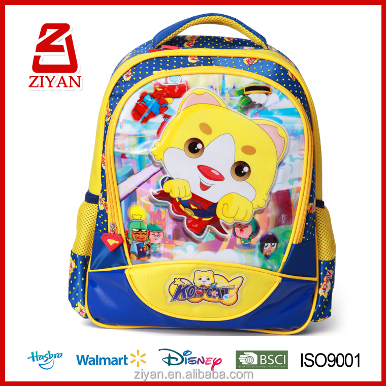 High quality low price stock kids primary school bag for grade 5