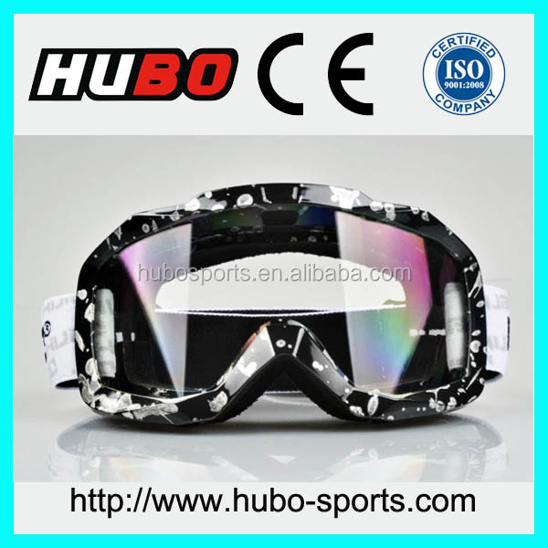 Best transprant lens crystal clear view moto cross goggles