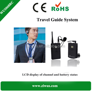 2.4G Digital Wireless Tour Guide System/Audio Guide/TourGuide/Interpretation Equipment for long distance range & more channels