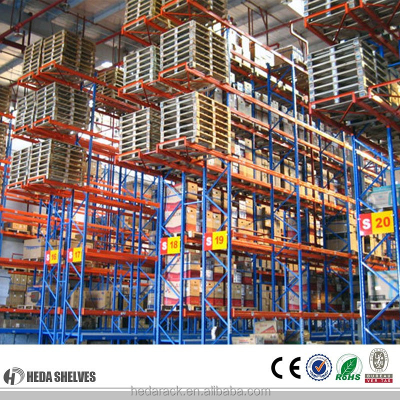 Heavy duty pallet <strong>rack</strong> for warehouse