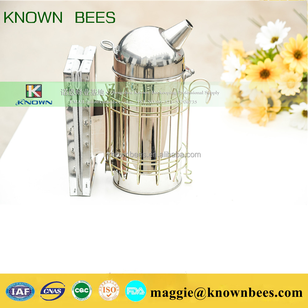 best selling beekeeping tools manual European domed honey bee smoker for export in bulk