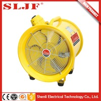 explosion-proof portable 12v exhaust electric fan dust cover