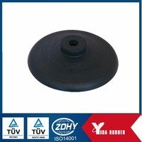 Industrial Silicone round rubber cover / Viton NBR EPDM round rubber cover/ Custom CR FKM Silicone Rubber Product