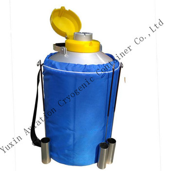 Good quality YDS-10 10L cryocan liquid nitrogen container price