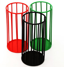 factory price beautiful iron wire umbrella storage basket for home and office used