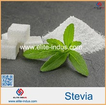 organic stevia extracted from Stevia leaves