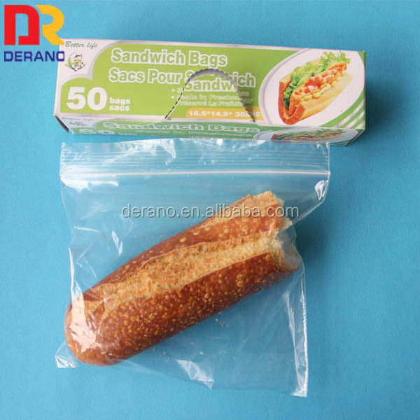 import recycle clear plastic bag for cookies packing