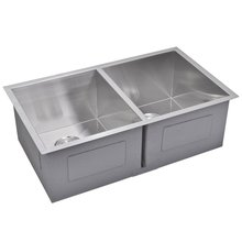 New Premium handmade stainless steel double bowl kitchen sink
