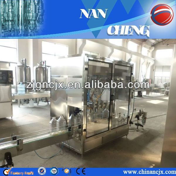 Automatic salad oil filling machine